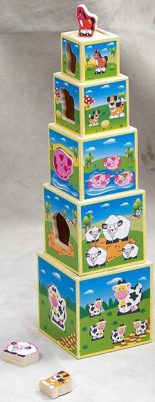 Развивающая игрушка Волшебные коробочки