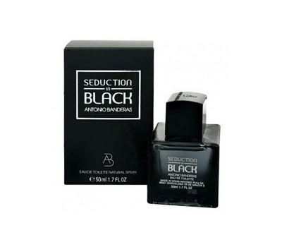 Туалетная вода Antonio Banderas Seduction in Black, 100 мл