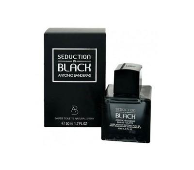 Туалетная вода Antonio Banderas Seduction in Black, 100 мл