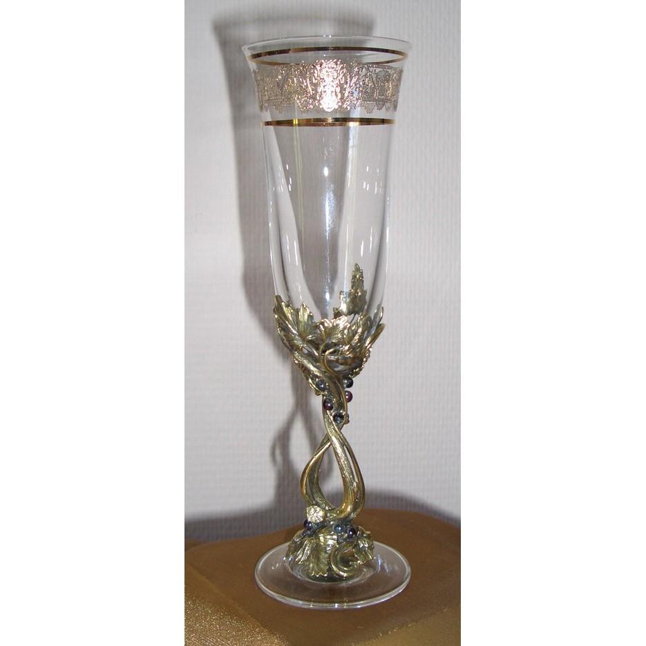 Набор из 2-ух бокалов для шампанского «Берегиня»