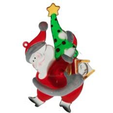 Декоративная фигурка Дед Мороз с LED подсветкой