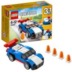 Конструктор Lego Creator Синий гоночный автомобиль