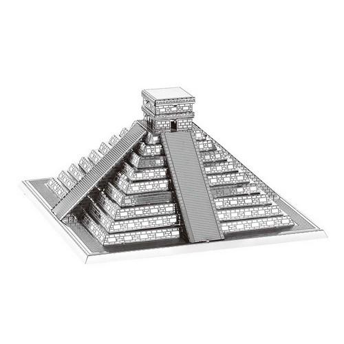 3D пазл из металла Пирамида Майя