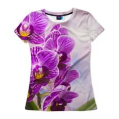 Женская футболка Божественная орхидея