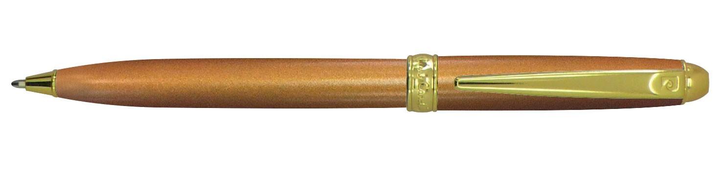 Бежевая шариковая ручка с позолотой Pierre Cardin Eco