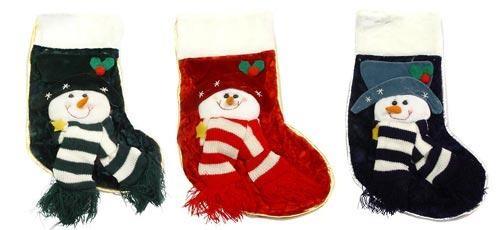 Носок для подарков Снеговик