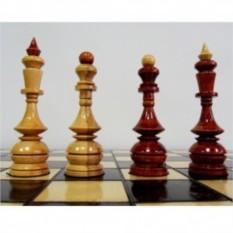 Деревянные шахматы Лакированный клён
