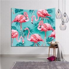Декоративное панно на стену Фламинго на светлом