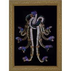 Картина с кристаллами Сваровски Змеиный узел