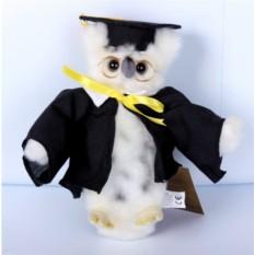 Мягкая игрушка Сова выпускник от Hansa
