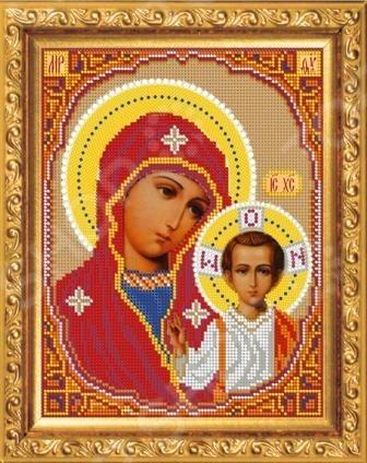 Набор для вышивания бисером Казанская Божья матерь