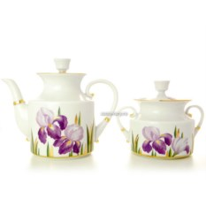 Чайный сервиз на 6 персон Ирисы