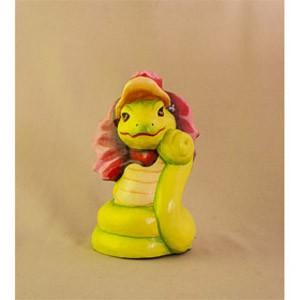 Фигурка из дерева Змея-дама