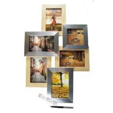 Фоторамка-коллаж на 6 фото Счастливые моменты