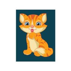 Картины по номерам «Котенок»
