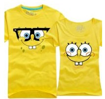 """Парные футболки """"Губка Боб"""""""