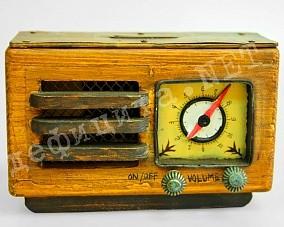 Модель «Копилка Радиоприемник - ретро»