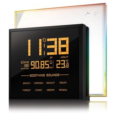 Настольные часы с FM-радио и датчиком температуры
