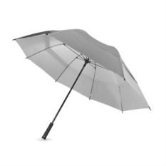 Серебристый механический зонт-трость Slazenger