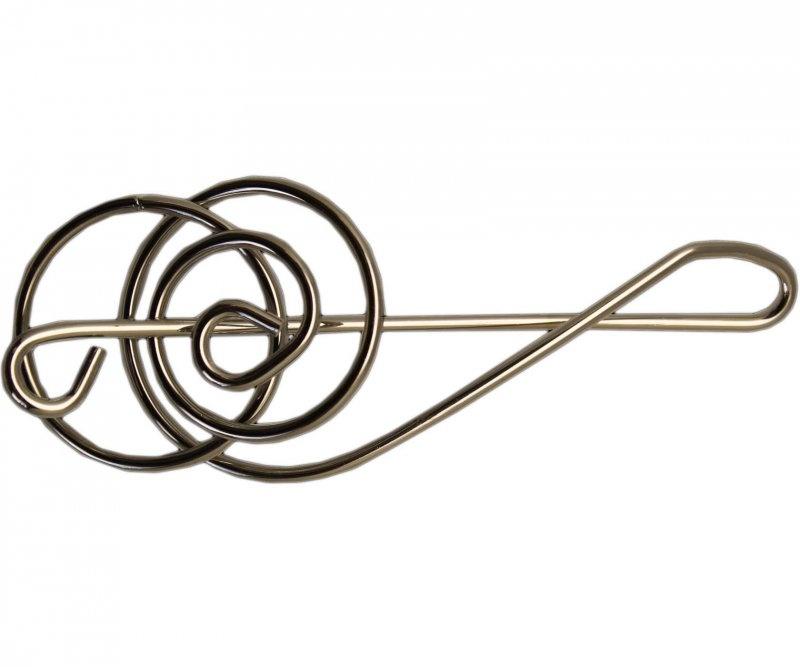 Металлическая головоломка «Скрипичный ключ»