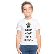 Детская футболка Keep calm and be a Minion