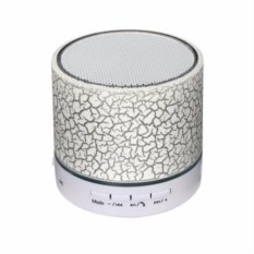 Bluetooth колонка с цветомузыкой (цвет: белый)