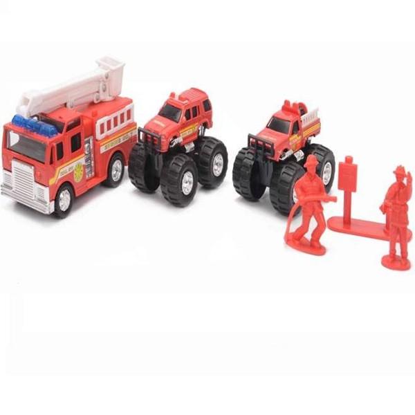 Набор машинок Soma Пожарная техника