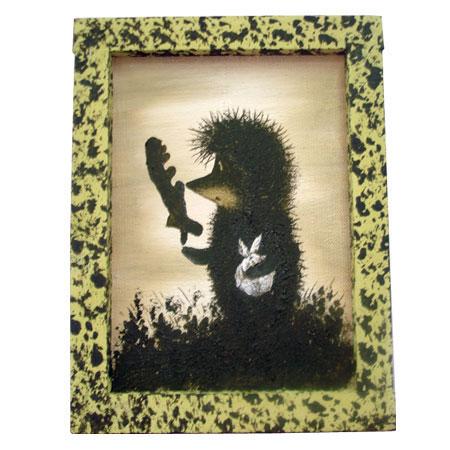 Картина «Ежик в тумане»