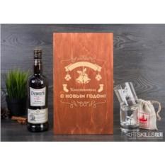Набор для виски «С Новым годом!»