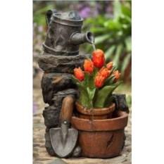 Фонтан для дачи Тюльпаны