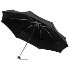 Черный складной зонт в чехле