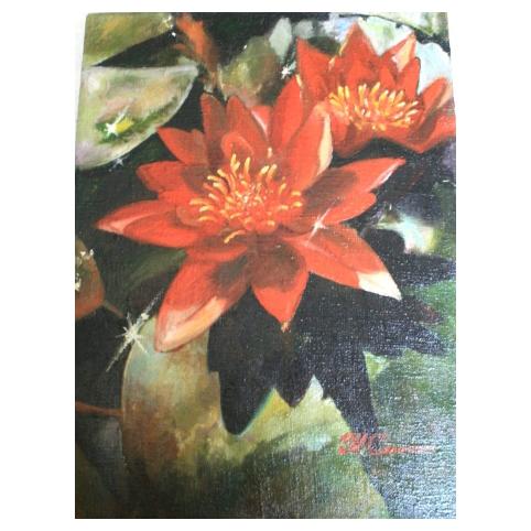 Картина «Цветок лотоса»