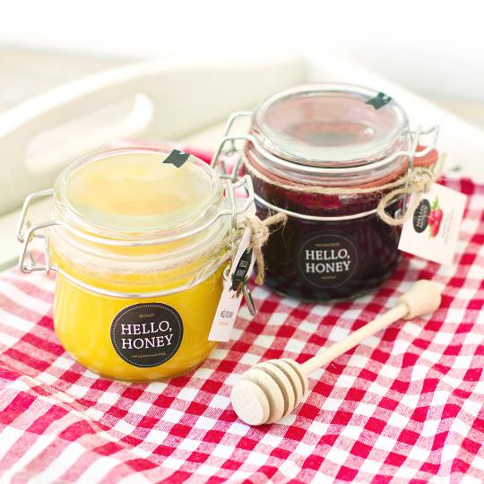 Набор мёда и варенья Sweet Forest
