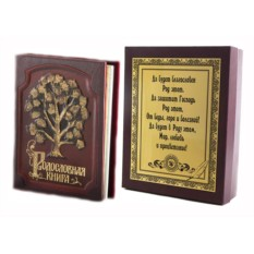 Родословная книга с росписью в футляре Изысканная