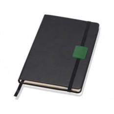 Блокнот Lettertone Label (цвет — черный/зеленый)