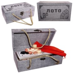 Русское лото в подарочной шкатулке Победитель