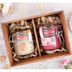Набор фруктового крем-мёда Frestorica «С новым годом»