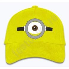 Бейсболка желтая Одноглазый Миньон