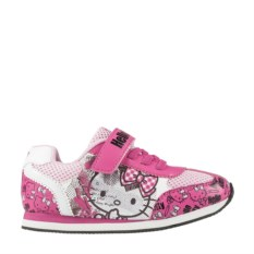 Бело-розовые кроссовки Hello Kitty