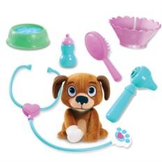Игровой набор Doctor Plusheva Переноска с собакой