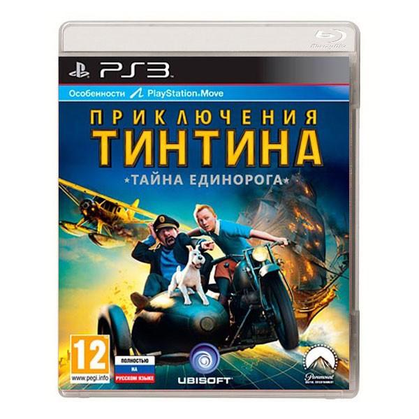 Игра Приключения Тинтина: Тайна единорога (PS3)