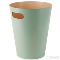 Бирюзовая корзина для мусора Woodrow