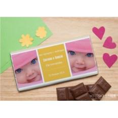 Шоколадная открытка Близнецы
