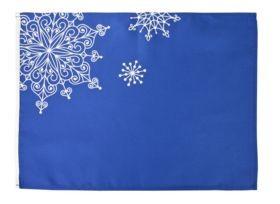 Декоративная скатерть «Снежинки»