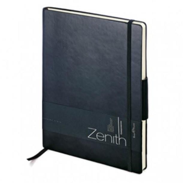 Черный недатированный ежедневник Zenith В5