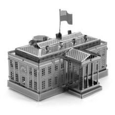 3D-пазл из металла Белый дом