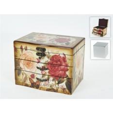 Декоративная шкатулка Розовый сад