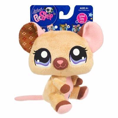 Плюшевая мини зверюшка Мышка
