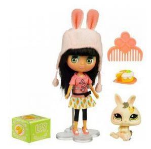 Игровой набор из куколки и зверюшки Bunny Duo
