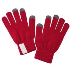 Красные сенсорные перчатки Scroll